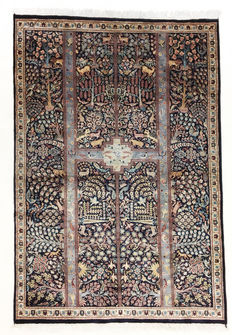 Super beautiful Pakistani Tabriz fine, 203 x 139 cm