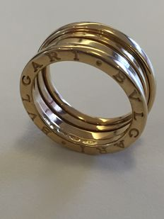 BVLGARI – B.zero1 – 18 kt yellow gold ring – size N.57