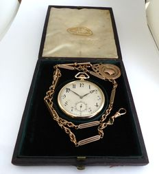Rolex. swiss gents pocket watch. date made birmingham 1920s