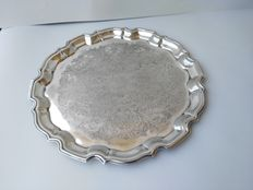 Antique silver plated tray CAVALIER MADE IN ENGLAND