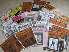 OLD JAZZ / BLUES - Various Artists - lot of nineteen (19) unplayed promotional LP's from the Biograph series