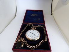 ROLEX.  swiss gents pocket watch. date made birmingham 1925-26 A }{ref no 71}