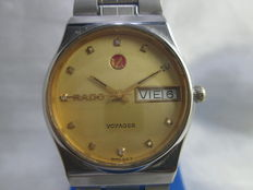 Rado 'Voyager' - Automatic Day/Date model 636.4011.4G - gents wrist watch c.1970s'