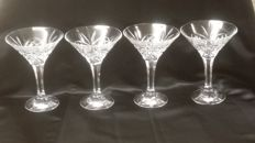 Royal Doulton - crystal goblets 4 set, England, second half 20th century