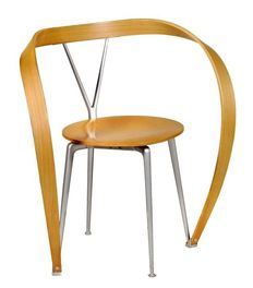 Andrea Branzi voor Cassina - Revers Chair in natural