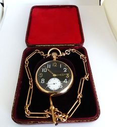 ROLEX.  military swiss gents pocket watch. date made birmingham 1923-24 Y }{ref no 70}
