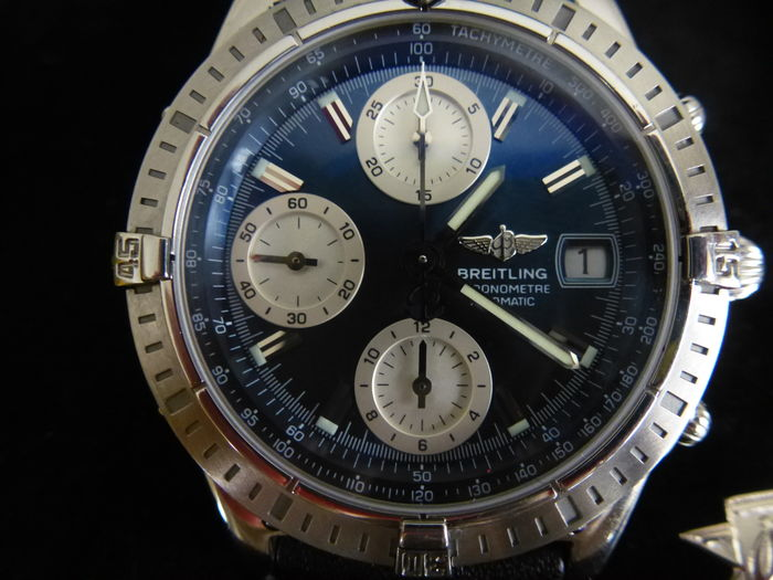 Breitling Chronomat BLUE DIAL Reference A13352