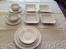 Prestigious collection of porcelain Hutschenreuther today Rosenthal