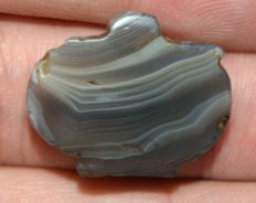 Ancient Islamic Sulaimani Banded Agate Bead - around 1500 years old