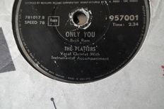 23x 78 rpm records, 10 inch including The Platters,Red Foley,Stan Kenton etc. etc. from pop to rock