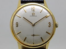 Omega Classic men's watch 14k 1970's