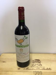 1999 Chateau Mouton Rothschild, Pauillac - 1 bottle (75cl) in original paper