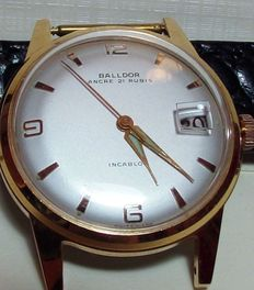 BALLDOR – Swiss-made men's wristwatch.