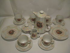 "Ilmenau tea set ,,Madonna""."