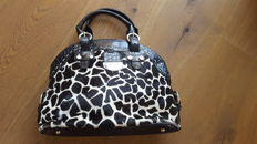 Tosca Blu – Pony hair bag – Black and white.