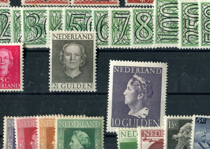 The Netherlands 1872/1967 – Stock on stock cards