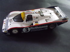 """Minichamps - 1/18 scale - Porsche 956 L winner of the 24 Hours of Le Mans 1983 with """"tobacco"""" Rothmans decals"""