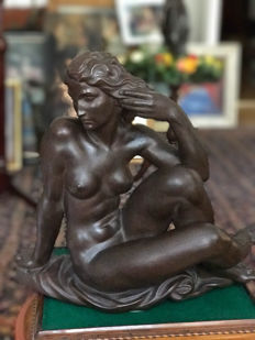 Robert Ulmann large Nude Lady figurine for Meissen