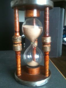 1 hour hourglass, second half of the 20th century