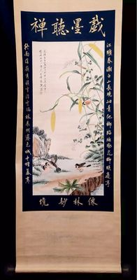 A Scroll painting - China - 21th century
