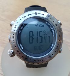 Columbia Peak15 - CT002 - outdoor watch - including barometer - altimeter - compass - temperature - ski timer.