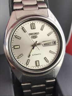 SEIKO 5 Daydate 7009 3040 January 1980