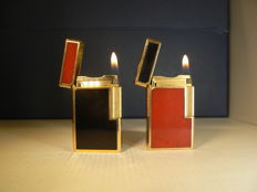 Two lighters Dupont lacquer of China