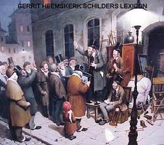 Heemskerk Lexicon of Dutch painters, painting and auction proceeds on CD-ROM