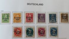 German Reich 1925/1945 - Selection complete series