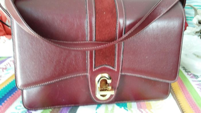 Gucci - Leather bag with shoulder strap