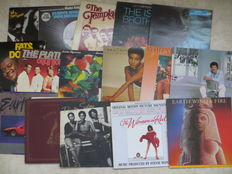 Soul, Funk - Various Artists - lot of 16 LP's