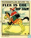 Flek is dol op jam