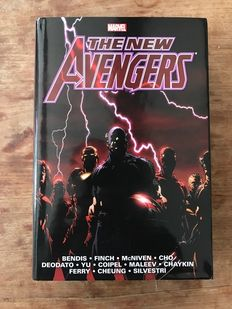 Marvel Omnibus - The New Avengers vol. 1 - HC With Dust Jacket - 1st printing - (2012)