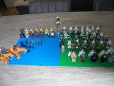 Star Wars - 64 Lego mini figures + accessories