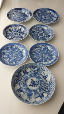 Seven plates – China – 1st half 19th century