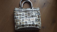 Tosca Blu lot, silver snakeskin bag ***No reserve price***