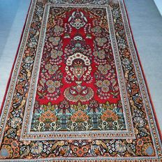 Magnificent Ghom carpet – 156 x 94 – GREAT APPEARANCE