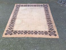 Very Large and Antique Dutch Deventer Carpet, 720 x 530 cm