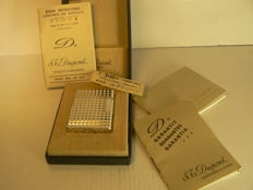 Dupont lighter silver plated