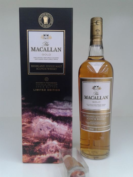 Macallan Gold Ernie Button