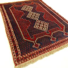 "Afshar - 138 x 104 cm - ""Special Persian beauty in top condition."" - Pay attention! no reserve price: starting at €1,-"