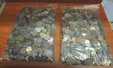 World – Batch of various coins (8 kilos)