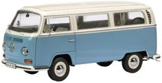 Schuco - Scale 1/18 - Volkswagen T2A Bus year 1967-1970 - Colour: Blue/White