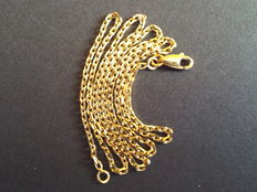 18 kt solid gold necklace– Length: 46 cm – Weight: 7.37 g