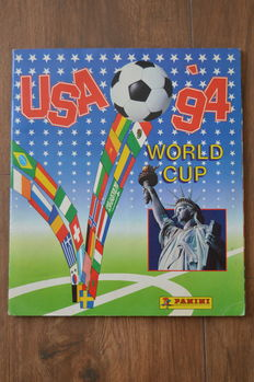 Panini - World Cup USA 94 - Complete album - Original orderform included.