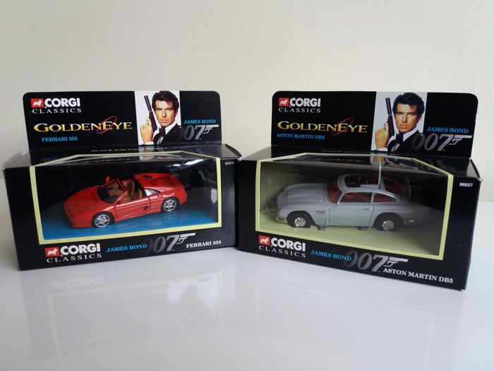 James Bond Goldeneye Corgi Classic 1 43 Ferrari 355 Catawiki
