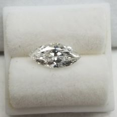 1.04CT H/SI2 GIA Certified Marquise cut Diamond.