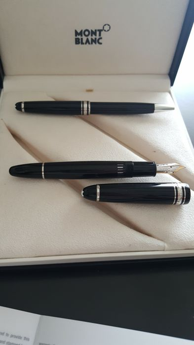 Montblanc Meisterstuck fountain pen and ballpoint pen