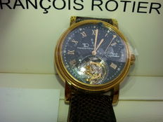 Francois Rotier Complication Diamond Tourbillon men' watch – Model FR0602GS – 2007 – never worn