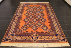 Beautiful Art Deco Chinese Oriental carpet made in China around 1980 in good condition 200 x 297cm